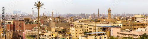 Spoed Foto op Canvas Egypte Panorama of Islamic Cairo - Egypt