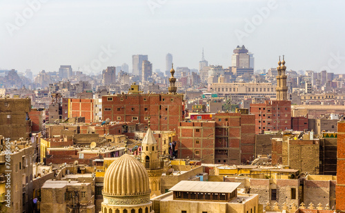 Staande foto Afrika View of city center of Cairo - Egypt