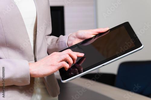 Fototapeta business woman obraz na płótnie