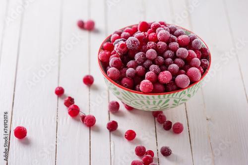 Fotografia  Frozen cranberry