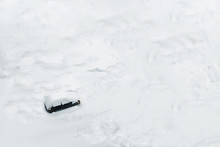 Car Trapped In Deep Snow
