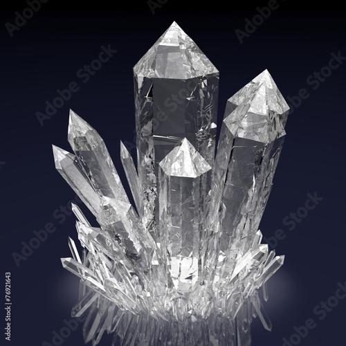 Fotografie, Obraz  Crystals