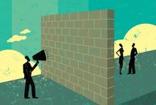 Shouting At A Brickwall