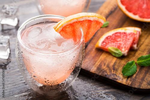 Grapefruit cocktail Poster