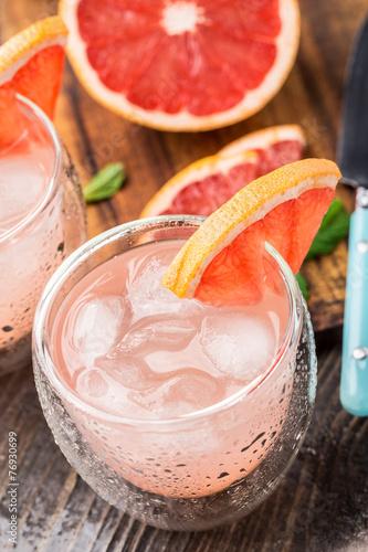 Grapefruit cocktail Slika na platnu