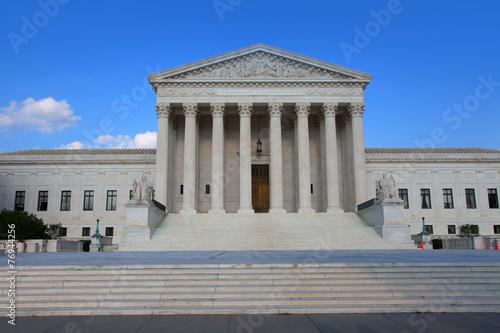 United states supreme court in Washington, DC Poster