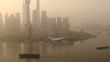 Shanghai Oriental Pearl Tower Air Pollution Pudong China