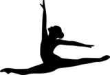 Ballet Jumping Dancer - 76947803