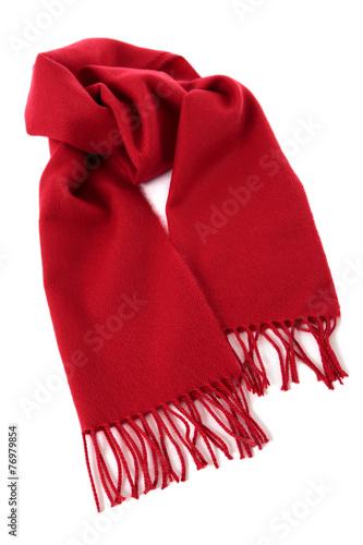 Fotografie, Obraz  Red winter scarf