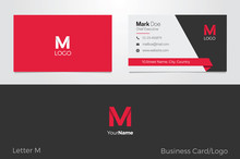 M Letter Logo Corporate Busine...