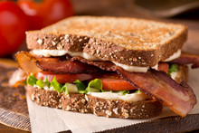 Bacon, Lettuce, And Tomato BLT...