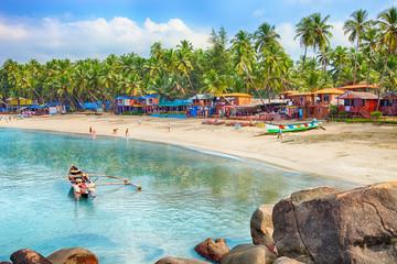 Indie, Goa, plaża Palolem
