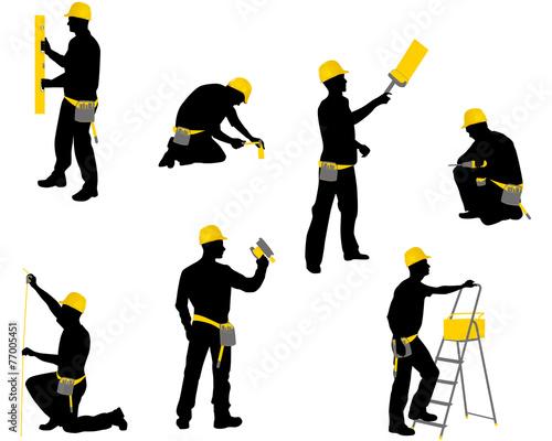 Workers Fototapeta
