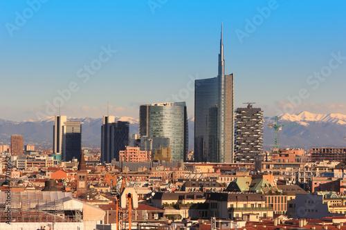 Spoed Fotobehang Milan Views of Milan, Italy