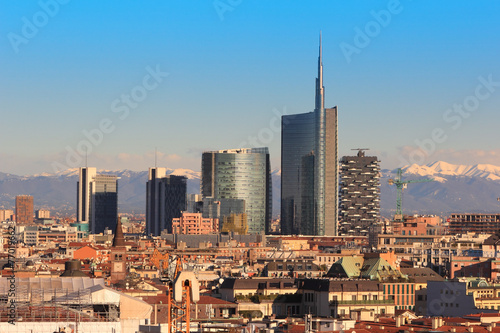 In de dag Milan Views of Milan, Italy