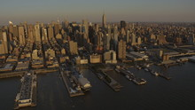 Aerial New York Air Space Muse...