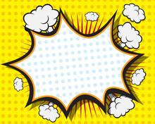 Comic Book Speech Bubble
