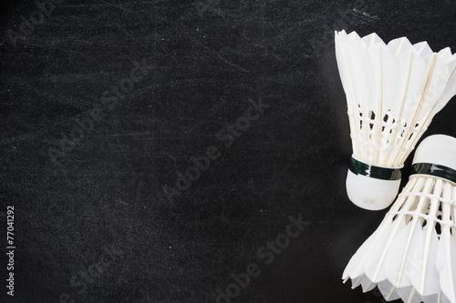 Obrazy Badminton   shuttlecocks-background