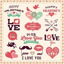 Valentine's Day Typography, La...