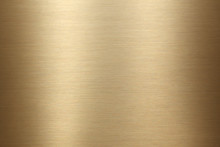 Brushed Gold Metal Background ...