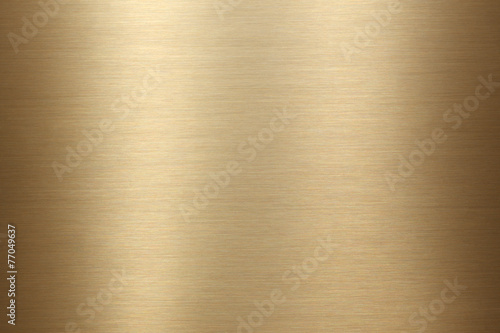 Fotografia  Brushed gold metal background texture