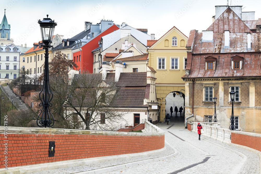 Fototapety, obrazy: Centrum Lublina, Polska
