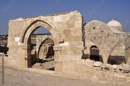 Foto op Canvas Cyprus Cipro. Antica città di Palaipafos a Kouklia