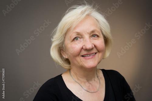 Fotografía  Attraktive Seniorin
