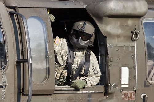 Photo  Helicopter crew chief