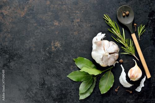 Fotografia Culinary background
