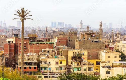 Staande foto Afrika View of Islamic Cairo - Egypt