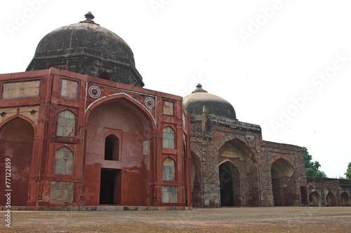 Tuinposter Delhi Humayun's Tomb in Delhi India