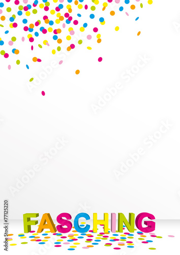 Hintergrund Fur Ein Plakat An Fasching Buy This Stock Vector And