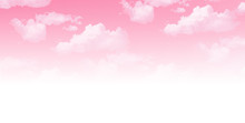 空 桜 背景