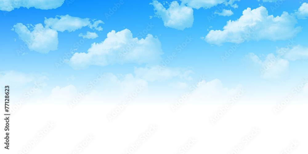Fototapeta 空 雲 背景