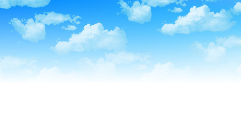 空 雲 背景
