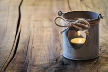 Romantic Shabby Lantern For Va...