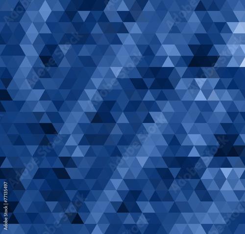 Keuken foto achterwand ZigZag abstract dark blue bacground from triangles