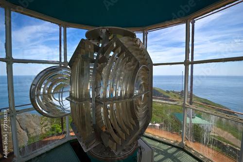 Fotografie, Obraz  Internal structure of the lighthouse.