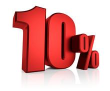 Red 10 Percent