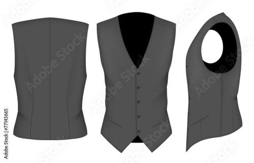 Fotografía  Men waistcoat for business men