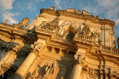 Canvas Prints Artistic monument Lecce and Barocco