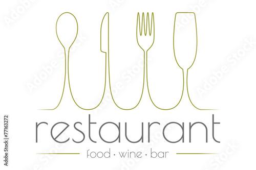 Fotografía  Restaurant logo