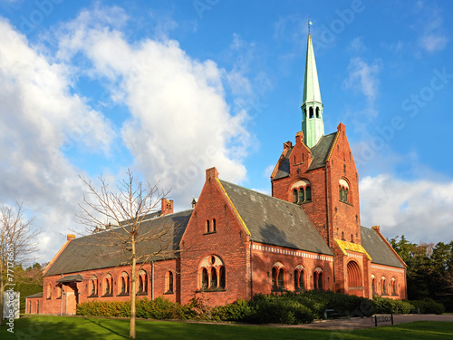 Photo  North chapel in vestre cemetery, Copenhagen