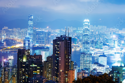 Photo  Hong Kong skyline