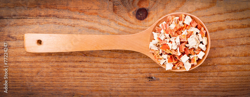 vegeta in wooden spoon Wallpaper Mural