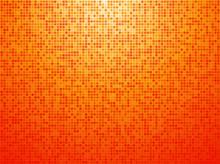Colorful Orange Checkered Background