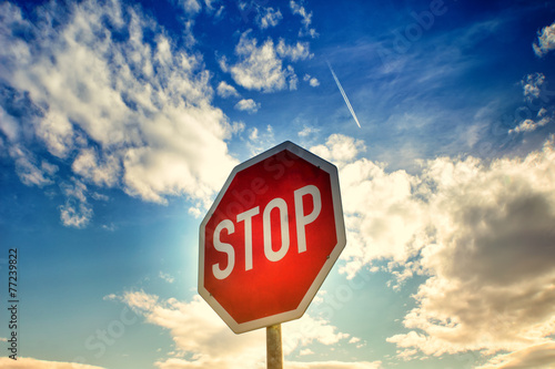 Fotografía  red stop sign (17)