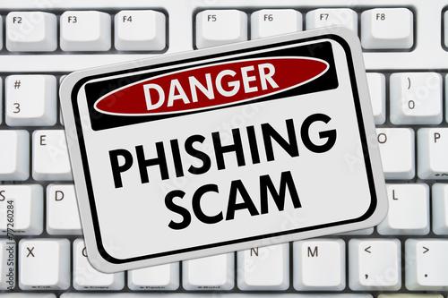Fotografía  Phishing Muestra del peligro