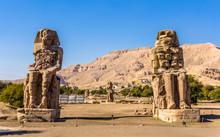 Colossi Of Memnon (statues Of ...